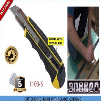 1103-5 Extreme cutter knife (side with 5pcs blade)
