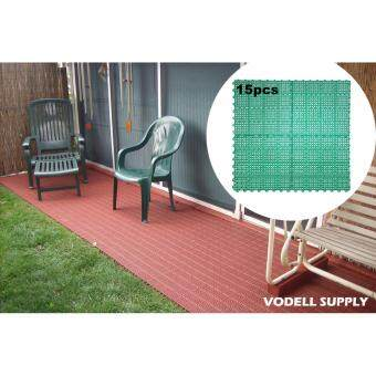 (15 pcs) Anti-skid Carpets Rugs Floor Mat/Cover Bathroom MatOutdoor Tile