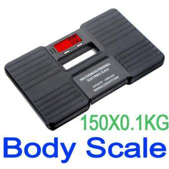 150KG Digital Electronic Fitness Bathroom Body Fat Weight Scale Health Weighing