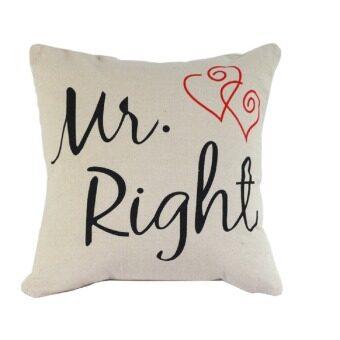 2 PCS Cotton Linen Square Throw Pillow Case Home Car Office Decorative Cushion Cover Pillowcase ...