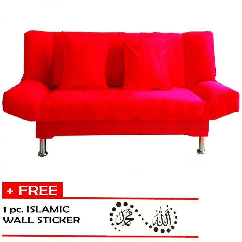 Sofa In Red Sofa Bed ddnspexcelinfo