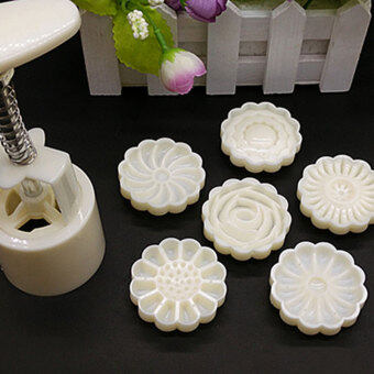 3D Mid-Autumn Festival Cake Pressure Mooncake Mold Cookie CutterCake Bakeware