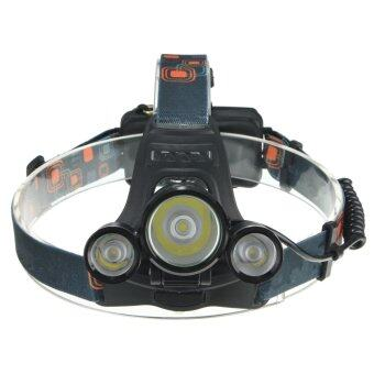 6000LM 3x LED XM-L2 T6 Headlamp Headlight Head Light Torch Flashlight Lamp