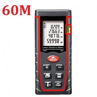 60M Laser Distance Meter Rangefinder Range Finder Build Measure Device Test Tool