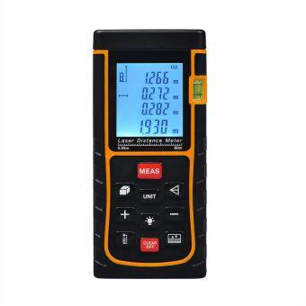 80m / 262ft Digital Laser Distance Meter Rangefinder Measure TapeDiastimeter