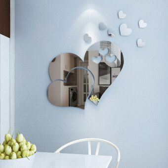 Acrylic bedside wall stickers