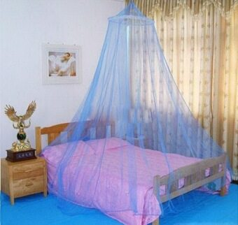 Allwin Elegant Round Lace Insect Bed Canopy Netting Curtain Dome ...
