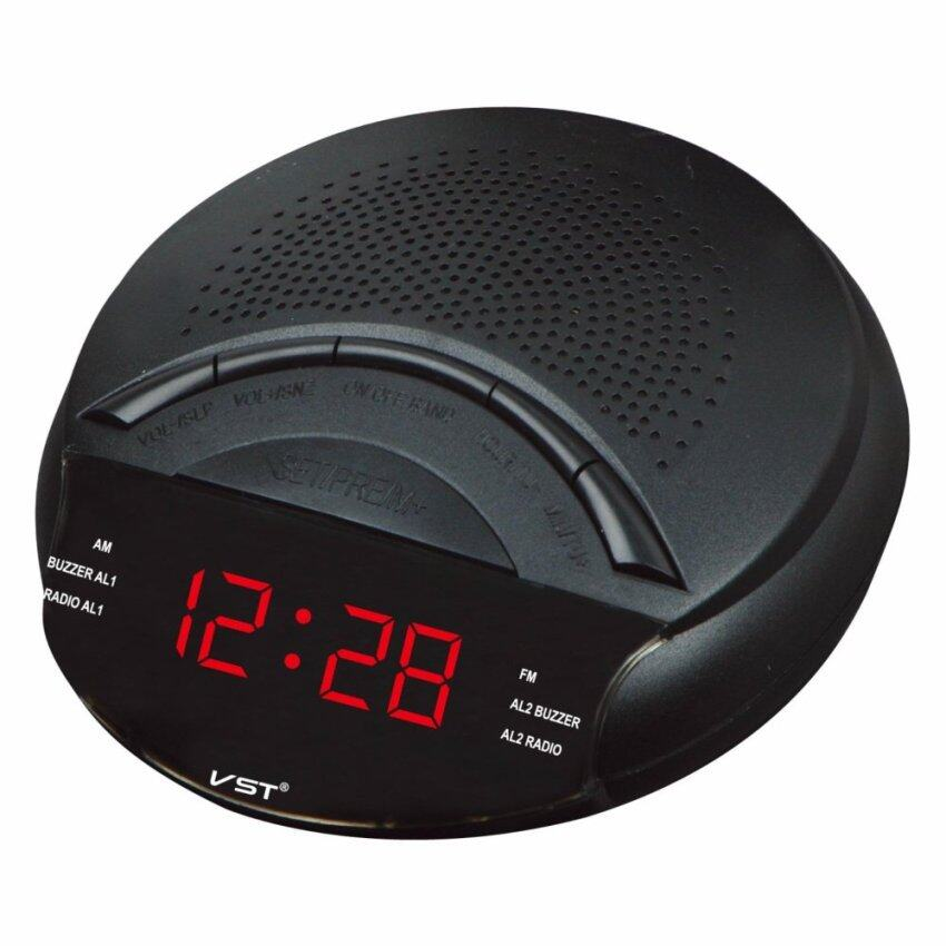 sony icfc1 alarm clock radio black lazada malaysia. Black Bedroom Furniture Sets. Home Design Ideas