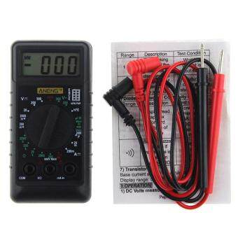 ANENG Mini Digital Multimeter With Buzzer Overload ProtectionPocket Voltage Ampere Ohm Meter DC AC LCD Portable