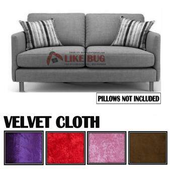 APHRODITE: Living Room 2 - Seater Velvet Designer Loveseat Sofa