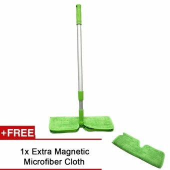 Arche Microfiber Magnetic Mop Multi-function Environment Friendly Mop With Machine Washable Cloth