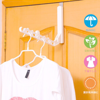 Bathroom nailless air dry rack clothes rack