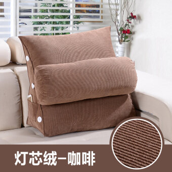 Bedside bed neck sofa waist back pad pillow
