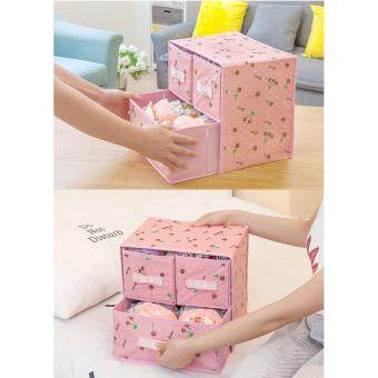 Bolster Store Multipurpose Storage Clothes Toys Storage Box withDrawer