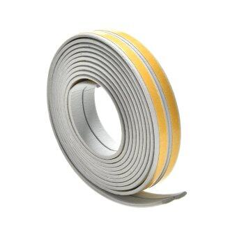 Buytra 5M E/D/I-type Foam Draught Self Adhesive Window DoorExcluder Rubber Seal Tape Grey I
