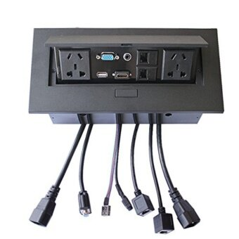 How To Conference Table Connectivity Box Multimedia Desktop - Conference table connectivity