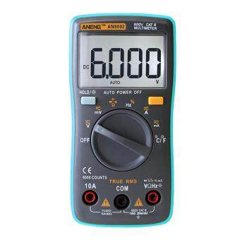Digital Multimeter 6000 Counts Backlight AC/DC Ohm Ammeter
