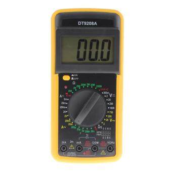 Digital Multimeter Volt Amp Ohm Hz AC/DC Temperature Hertz Tester