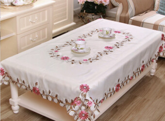 Dining table cloth coffee table cloth rectangular cushion suitRound Table