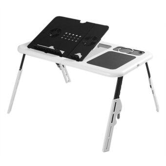 E-Table Portable Foldable Laptop Notebook E-Table Desk with CoolingFan System