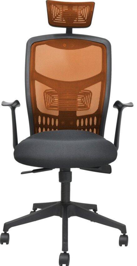 Mesh Chair With Chrome Leg Black Lazada Malaysia