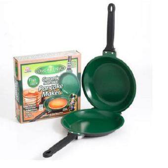Flip Frying Pan ceramic NonStick Cookware Pancake Maker Double Pan