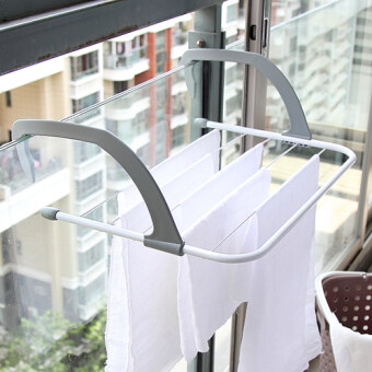 Foldable Storage Heating piece clothes rack air dry rack