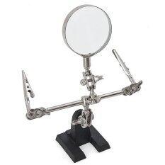 Iron Clamp Magnifying Glass Gracefulvara Home Hand Tools Gracefulvara Hands Free Tool Jewelry Repair Fly Soldering