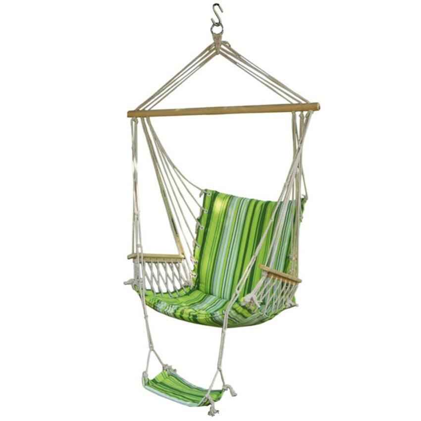 Sw023 black swing chair hammock lazada malaysia for Balancoire exterieur