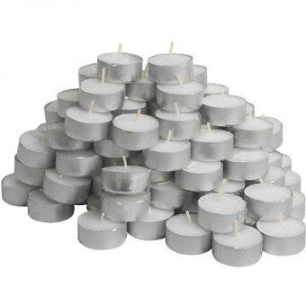 IKEA GLIMMA Unscented Tealight Candles - Set of 100