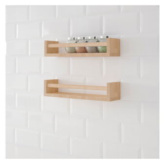 IKEA Tony cam small Zhai purchasing birch kitchen storage rack