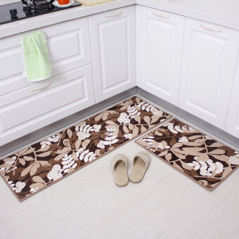 Kitchen mats long carpet-dirty anti-oil home non-slip mats bedroom bathroom absorbent mats balcony door mat