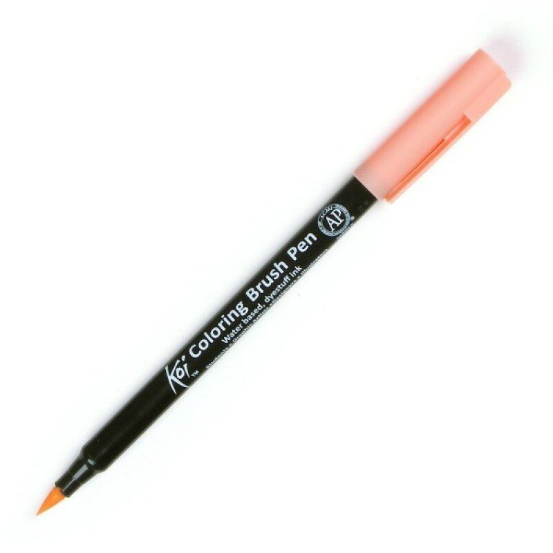 Pilot water brush pen for color or calligraphy size