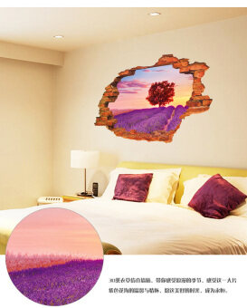 Living room decorative wallpaper sticker dormitory bedroom stickers wall stickers