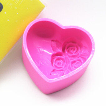 LOVE chocolate lovely flower sugar silicone Mold