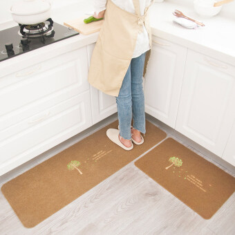 Mats kitchen non-slip anti-oil kitchen carpet bedroom door mat bathroom absorbent mats waterproof non-slip mat