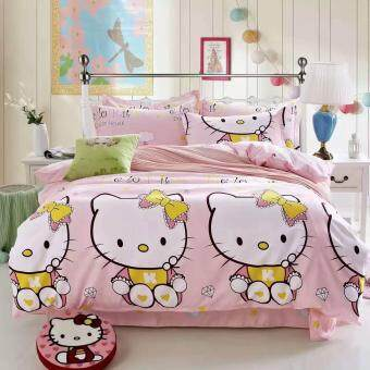 Maylee High Quality Cotton 3pcs Queen Fitted Bedding Set 450TC (HK)