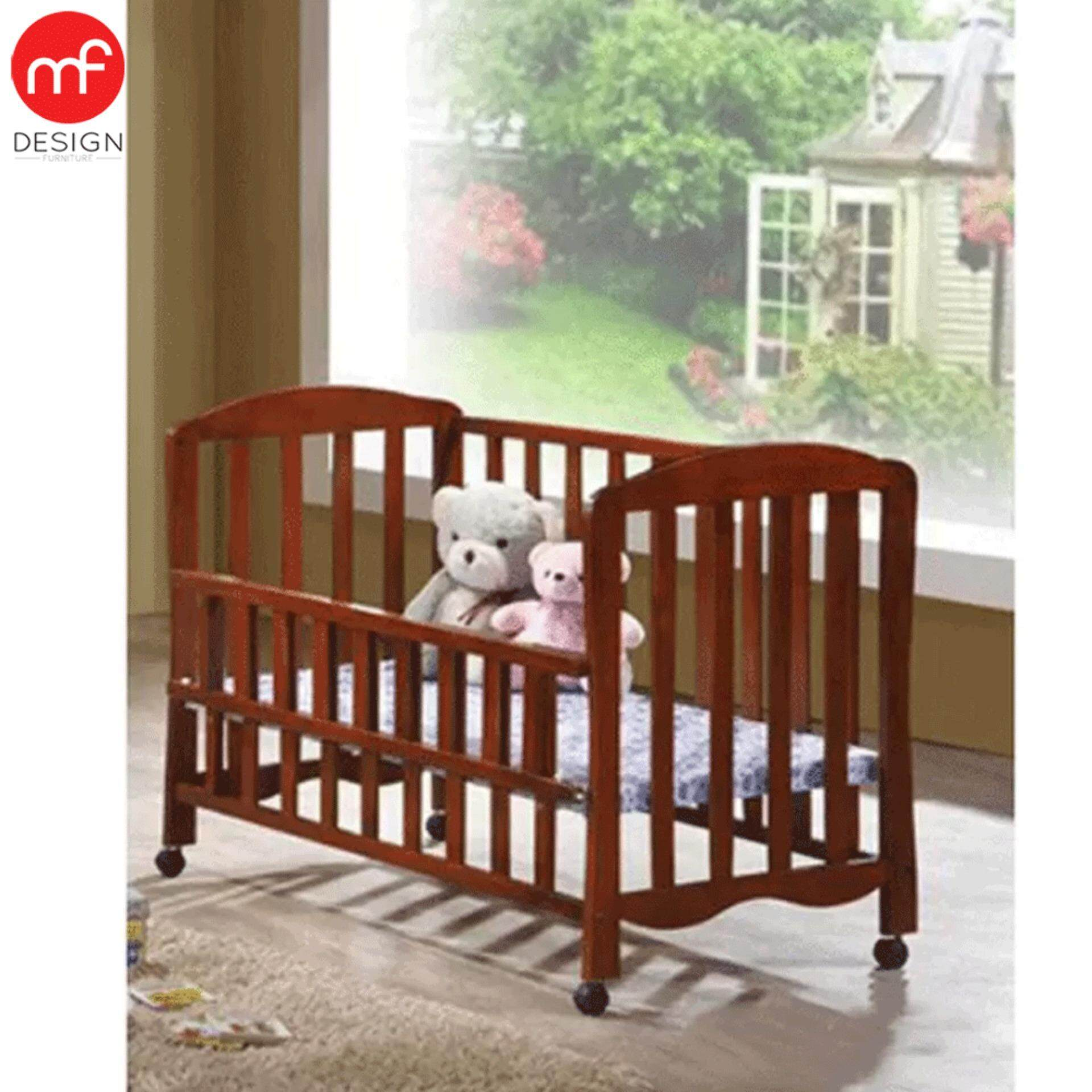 Baby bed malaysia - Mf Design Candy Baby Cot Kids Bed Oak