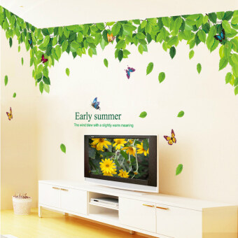 Modern Cool World Map wall stickers office poster paper