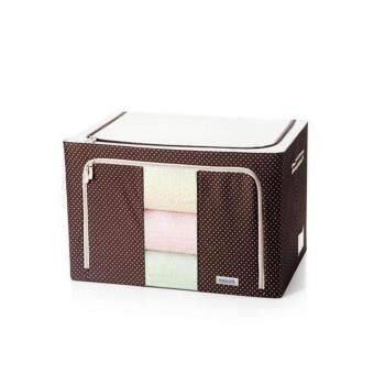 Multipurpose Durable Foldable Oxford Cloth - Apparels Storage Dotted Design Box