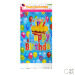 New Cartoon children's birthday tablecloth birthday party table cloth 1.8 m baby birthday layout table cloth