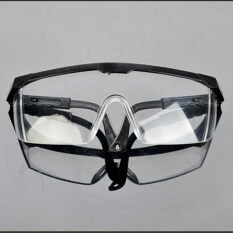dust goggles byz3  New Safety Eye Protection Clear Lens Goggles Glasses From Lab Dust Paint  Lab Black