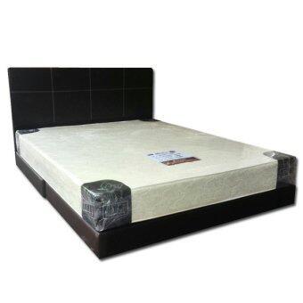 Odin divan bed with 8 inch mattress queen size lazada for Queen size divan