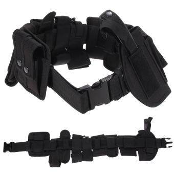 Outdoor Multifunction Tactical Belt Security Police Guard UtilityKit Nylon