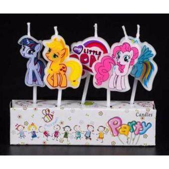 Party Time My Little Pony Birthday Candle Set