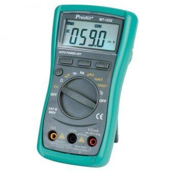 Pro'sKit MT-1232-C 3 3/4 Autorange Digital MultimeterResistance,