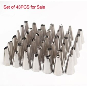 Quality 24Pcs/set Large Stainless Steel Icing Piping Nozzles PastryTips Set For Cake Decorating Sugar Craft DIY Tool