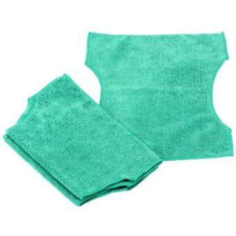 Real Clean Microfiber Refills for Swiffer and Clorox ReadyMop 3-pack GREEN