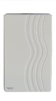 SCHNEIDER Mechanical Ding Dong Door Chime (White)