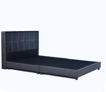 Sg tan grorious pvc queen size divan bed lazada malaysia for Queen size divan